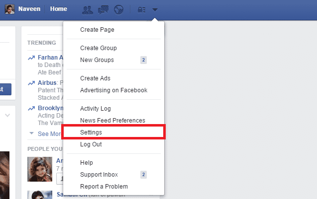 facebook-settings