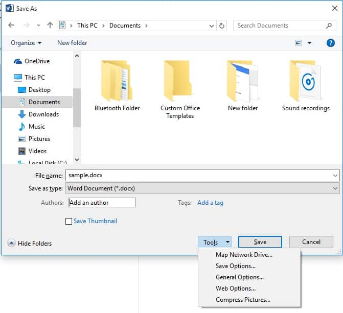 how-to-password-protect-microsoft-word-document-screenshot6