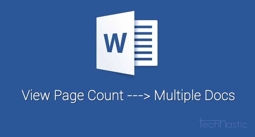 ms-word-page-count