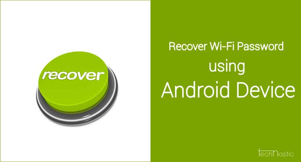 Recover-WiFi-Password