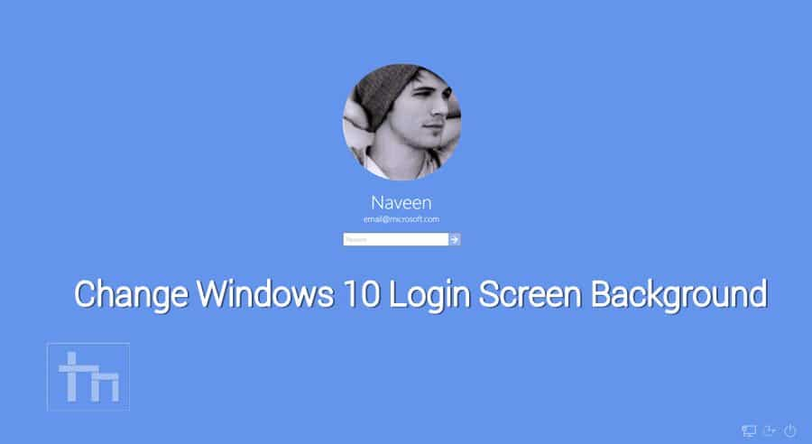 how to put login password in windows 10