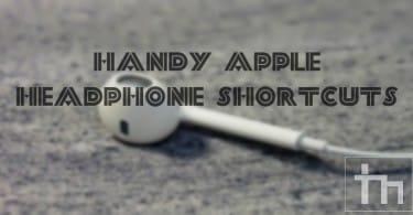 Here's A List Of Handy Apple Headphone Shortcuts