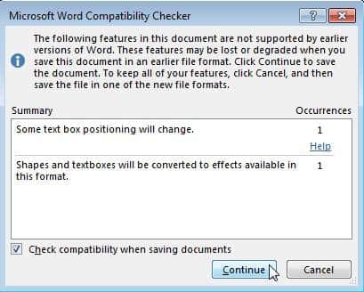 Microsoft-Word-Compatibility-checker
