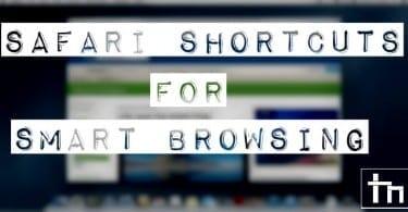 Safari Shortcuts for Smart Browsing