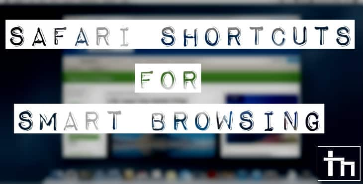 Safari Shortcuts for Smart Browsing
