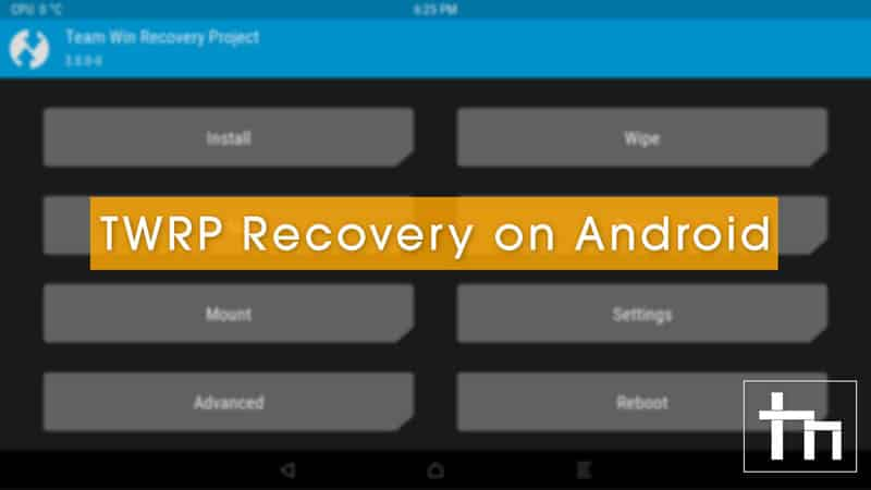 TWRP-Recovery-on-Android