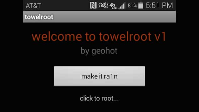 towelroot for android