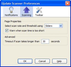 Update Scanner