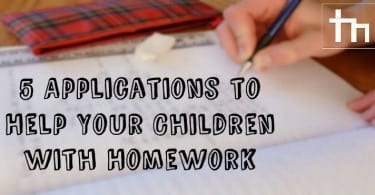 5 Applications to Help Your Children with Homework