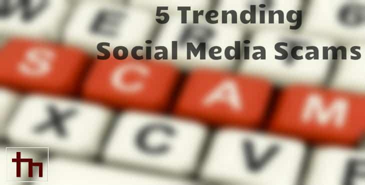 5 Trending Social Media Scams
