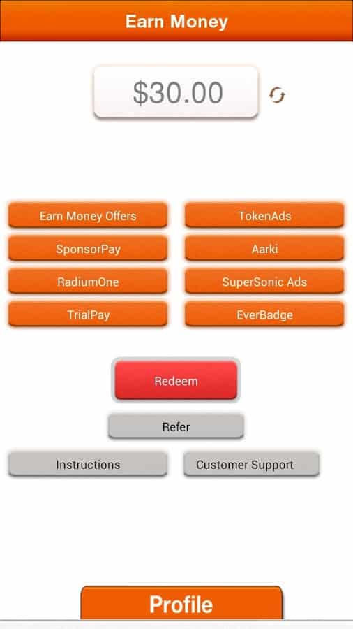 Make Money android app