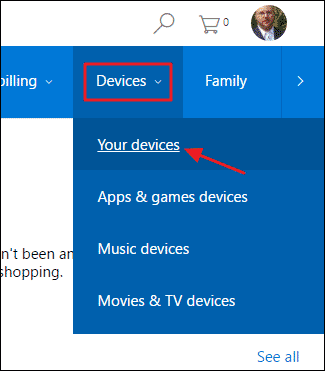 Remove Device From Microsoft Account - 1