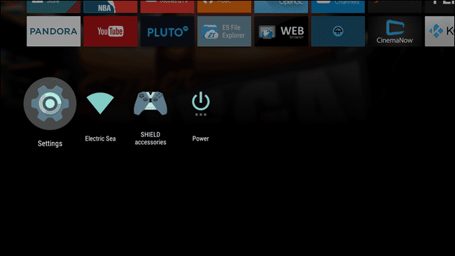 Reset Android TV - 1