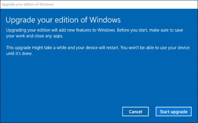 Upgrade Windows 10 2
