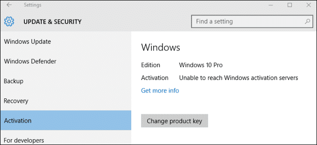 Upgrade Windows 10