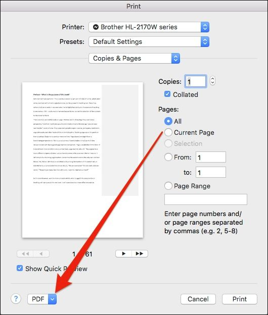 Turn Web Pages Into Pdf Documents: How To Convert Documents Into PDF Files On Mac