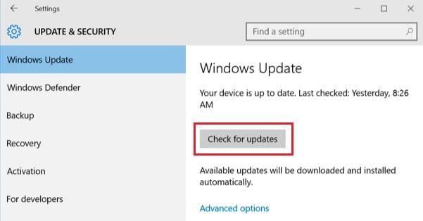 Windows 10 Anniversary Update