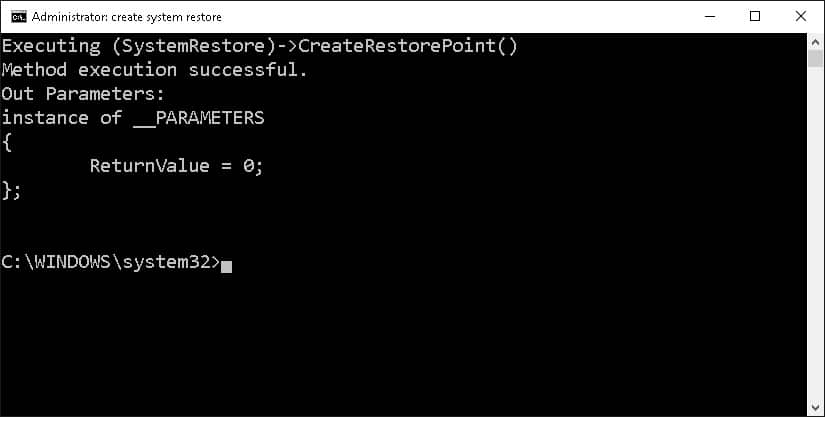 windows 10 command prompt