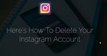 Here's How To Delete Your Instagram Account