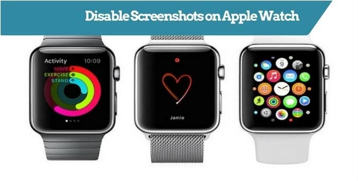Disable Screenshots on Apple Watch