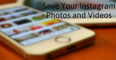 Save your Instagram Photos and Videos