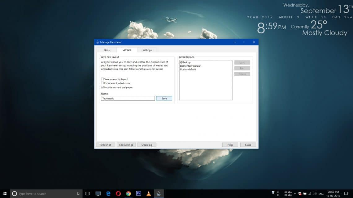 Customize Your Windows 10 Desktop With Rainmeter
