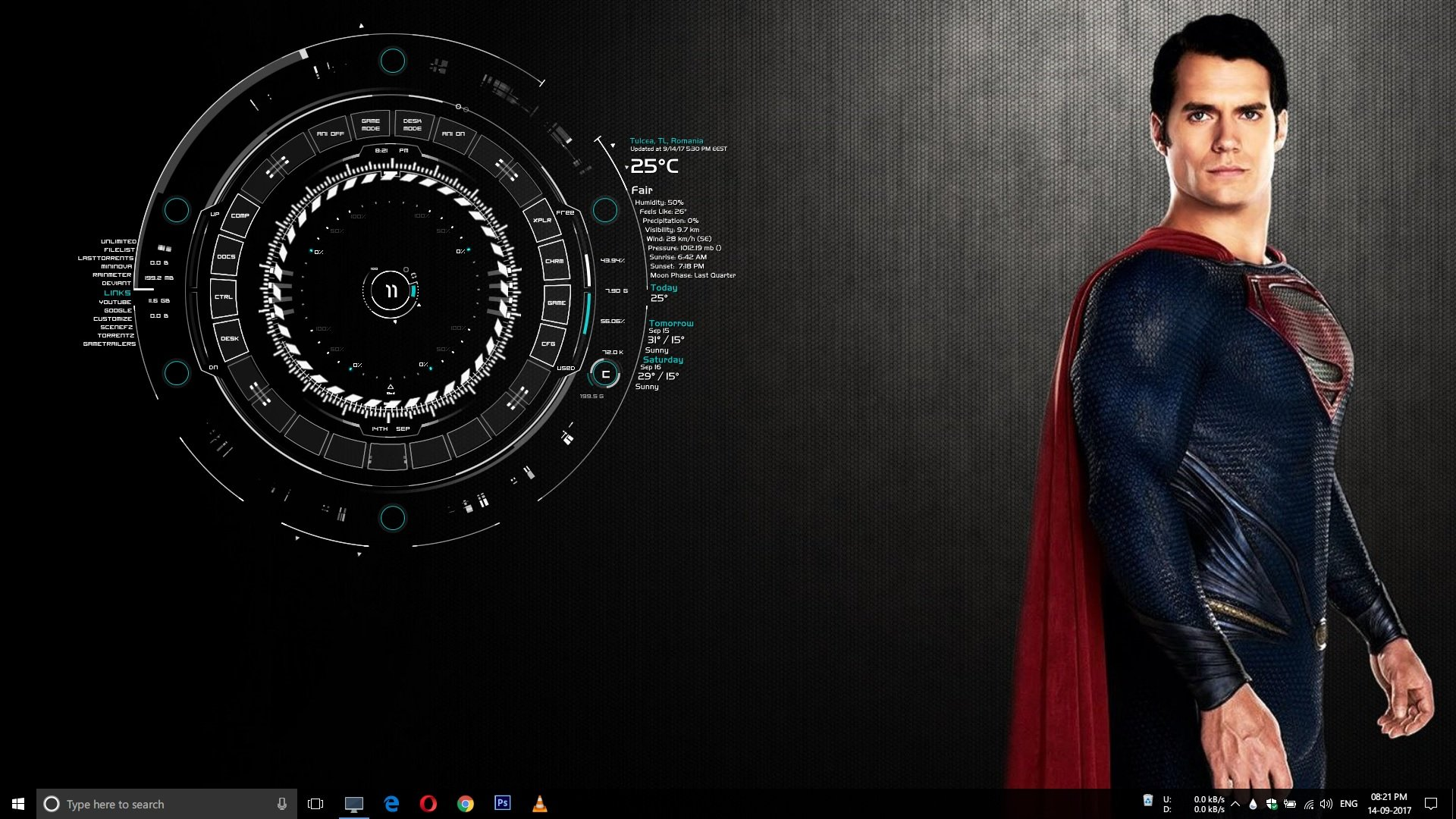The Best Modern Rainmeter Skins