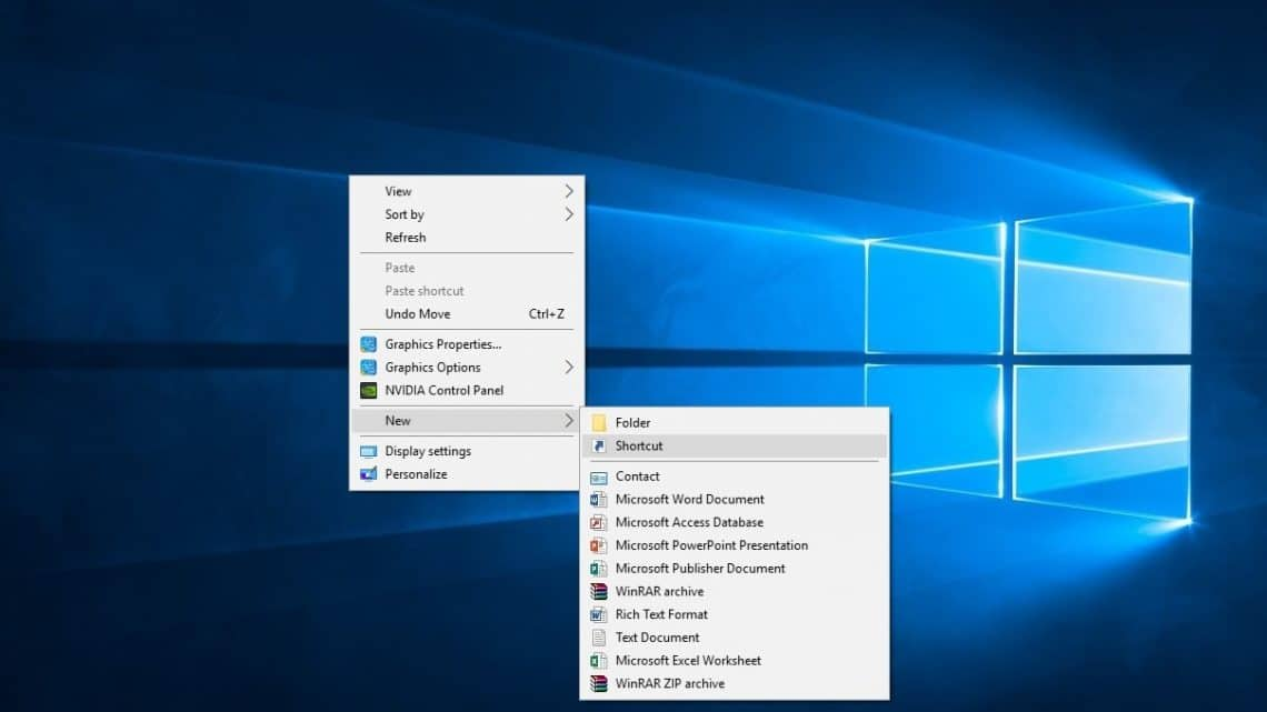 How To Access Various Windows 10 Settings Via Desktop Shortcuts