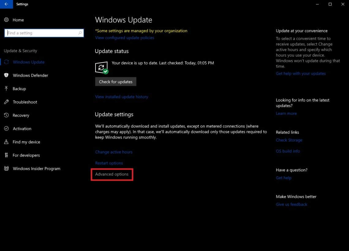 How To Set Windows Update Bandwidth In Windows 10