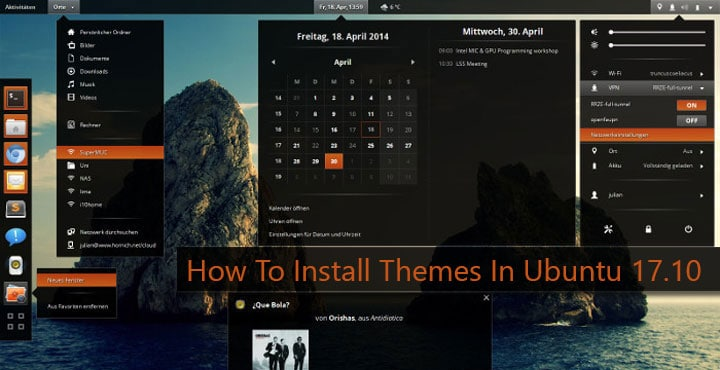 How To Install Themes In Ubuntu 17.10