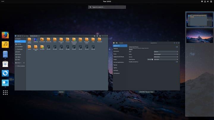 Installing Themes in Ubuntu 17.10