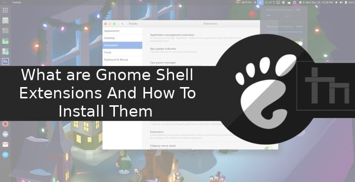 How to Install Gnome Shell Extensions | Technastic