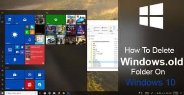 How To Delete Windows.old Folder on Windows 10