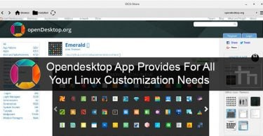 Opendesktop App Provides For All Your Linux Customization Needs