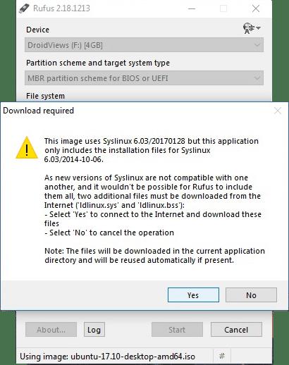 How To Create Bootable Ubuntu USB Drive On Windows