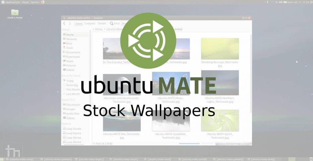 Ubuntu MATE Stock Wallpapers