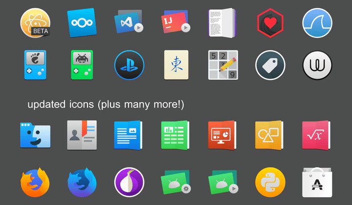 La Capitaine icon pack linux