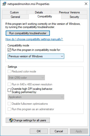 net speed monitor installation