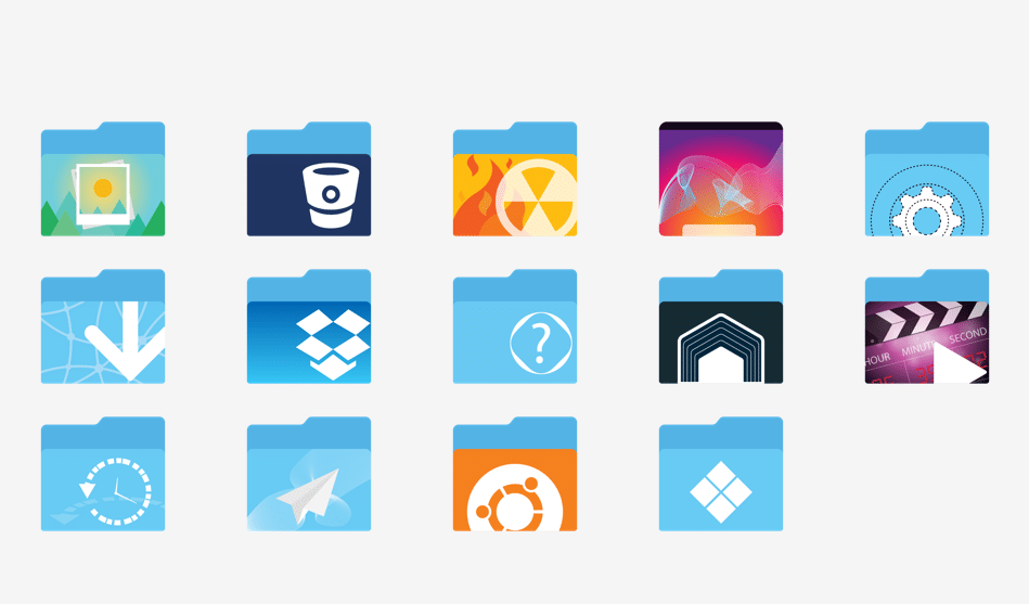Xenlism Wildfire icon theme