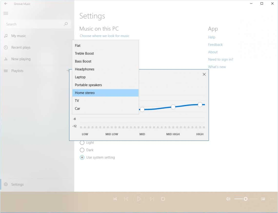 How To Use Groove Music Equalizer On Windows 10