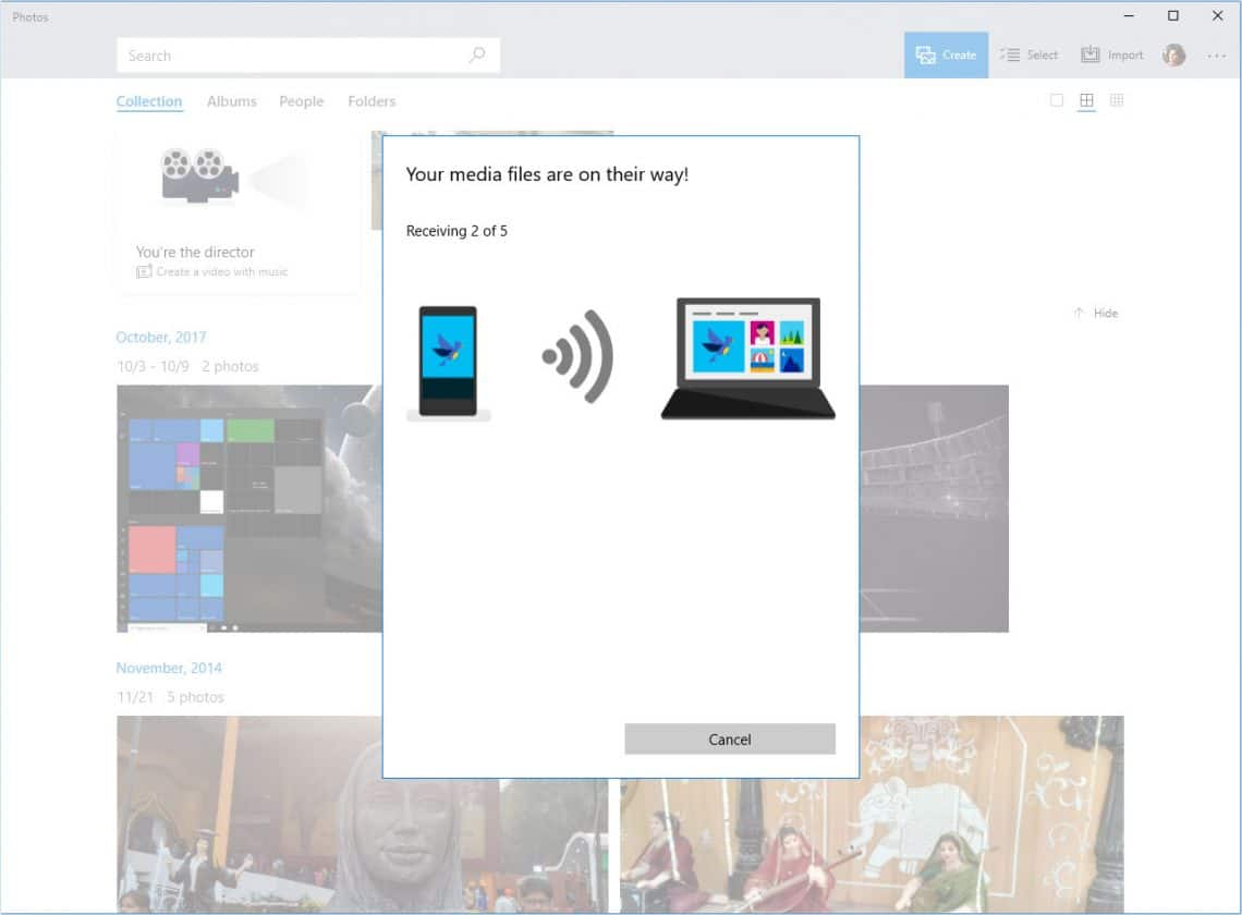 How to Quickly Transfer Photos from Phone to Windows 10 PC | Technastic