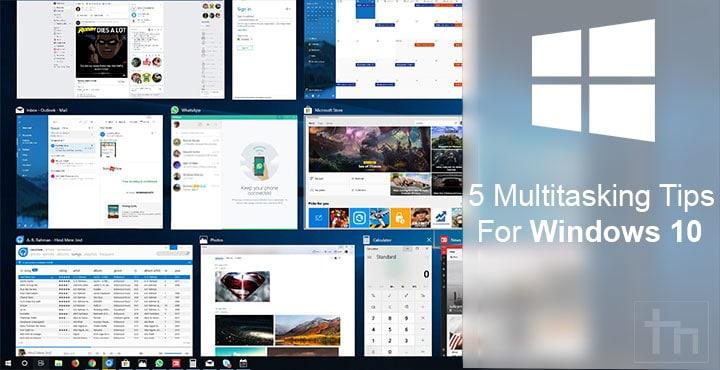windows 10 multitasking