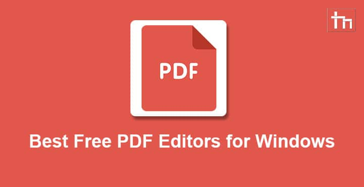 Best Free PDF Editors for Windows