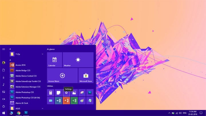 pin windows 10