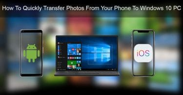 Transfer Photos from Phone to Windows