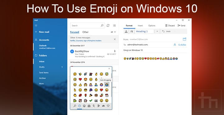 How To Use Emoji on Windows 10