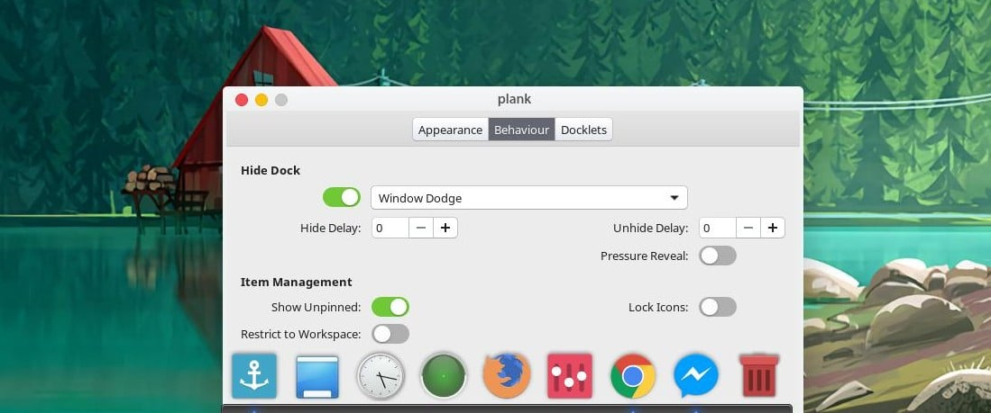 plank dock for ubuntu