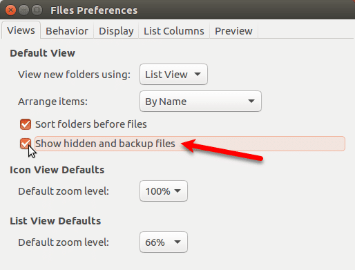 How To Hide Files And Folders In Ubuntu
