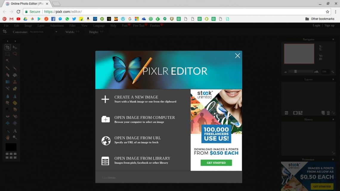 Adobe Photoshop Alternatives For Chrome OS