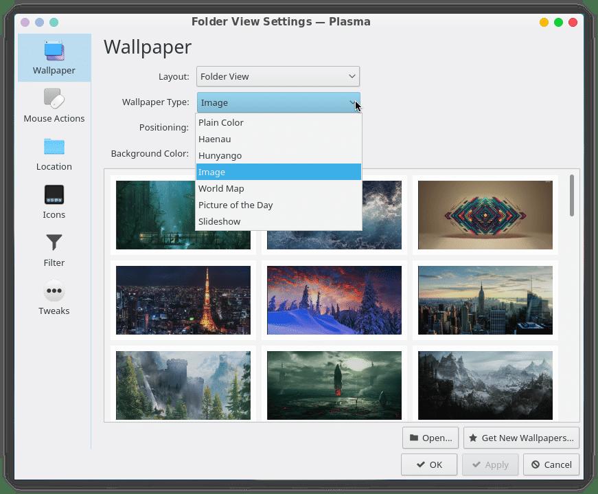 KDE Plasma Desktop wallpaper